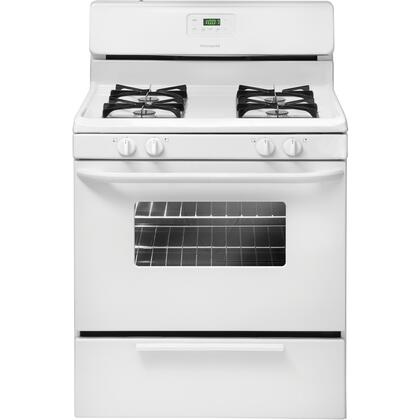 Frigidaire FFGF3013LW  Gas Freestanding Range with Sealed Burner Cooktop, 4.2 cu. ft. Primary Oven Capacity, Broiler in White