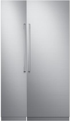 Dacor 772323 Modernist Side-By-Side Refrigerators