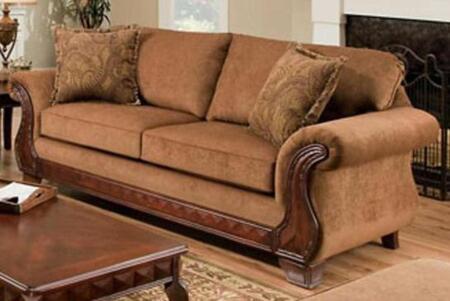 Chelsea Home Furniture 186903-X Jefferson Sofa, Medium Cushion Firmness, and Fabric Upholstery