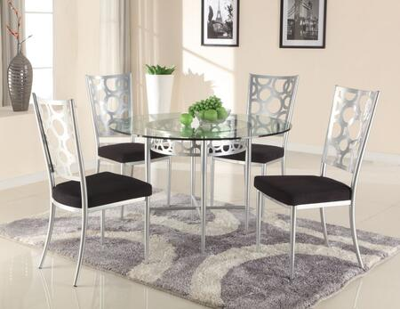 Chintaly VERONICADTSET Veronica Dining Room Sets