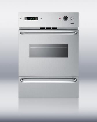 Summit TEM721DKSSW  Stainless Steel Single Wall Oven