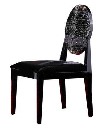 VIG Furniture VGUNAA0181 A & X Series Modern Fabric Wood Frame Dining Room Chair