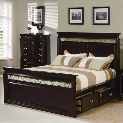 Coaster 201311Q Manhattan Series  Queen Size Storage Bed