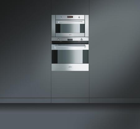 smeg su45mcx 24 inch single wall oven in stainless steel appliances connection
