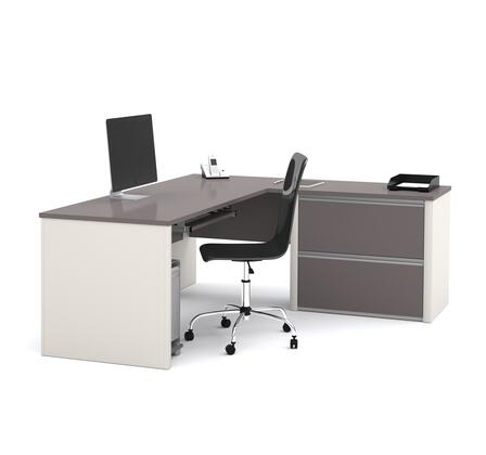Bestar Furniture 93862 Connexion L-shaped workstation