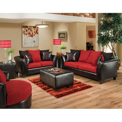 Flash Furniture RS-4170-0XLS-SET-GG Riverstone Microfiber Living Room Set