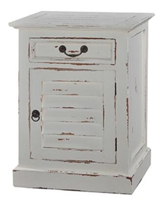 Bramble 23496 Cottage Series Rectangular Wood Night Stand
