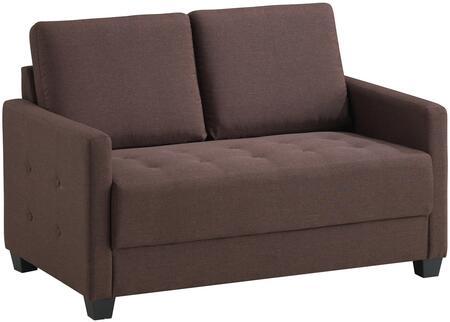 Glory Furniture G776L Fabric Stationary Loveseat