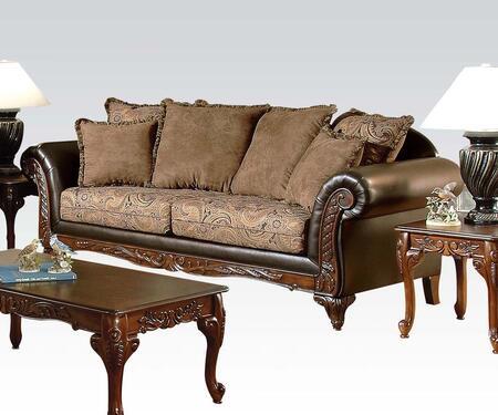 Acme Furniture 50335 Fairfax Series  Fabric Sofa