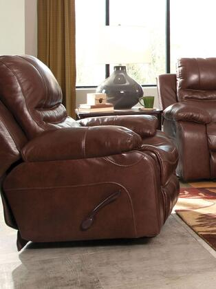Catnapper 642407128319308319 Patton Series Leather Metal Frame  Recliners