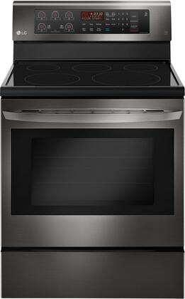 "LG LRE3193x 30"" Electric Range with 5 Elements, 6.3 cu. ft. Capacity, True Convection, EasyClean Technology and Storage Drawer, in"