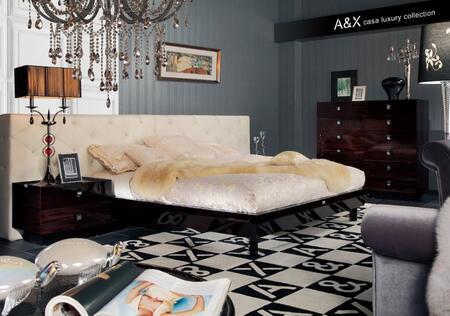 VIG Furniture AW220180K  King Size Platform Bed