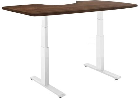 Vifah A54A4 ActiveDesk Series Computer  Wood Desk