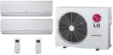 LG 706630 Dual-Zone Mini Split Air Conditioners
