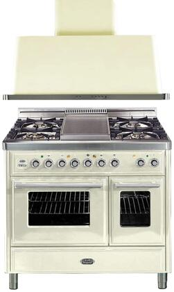Ilve 721596 Majestic Techno Kitchen Appliance Packages