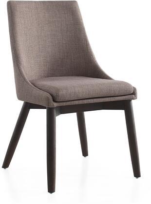Casabianca CBF3185GWEN Creek Series Fabric Wood Frame Dining Room Chair