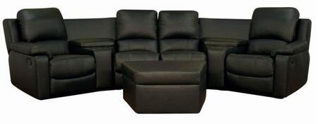 Wholesale Interiors 8802BLACK7PCHOMETHEATRESETS