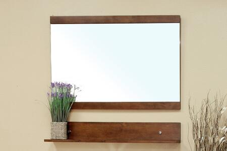 Bellaterra Home 203138MIRROR  Rectangular Landscape Bathroom Mirror