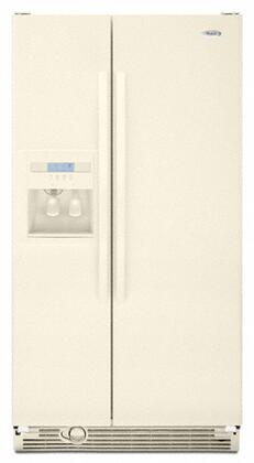 Whirlpool ED2KHAXV 22 cu. ft. Side-by-Side Refrigerator with 3 SpillProof Slide-Out Glass Shelves, Accu-Chill Temperature System, Humidity-Controlled Crisper and Lockout Feature,