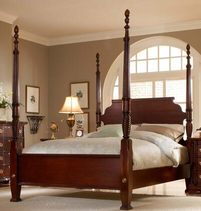 American Woodcrafters 340066POS  King Size Poster Bed