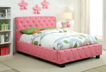 Furniture of America CM7056PKFBED Julliard Series  Full Size Panel Bed