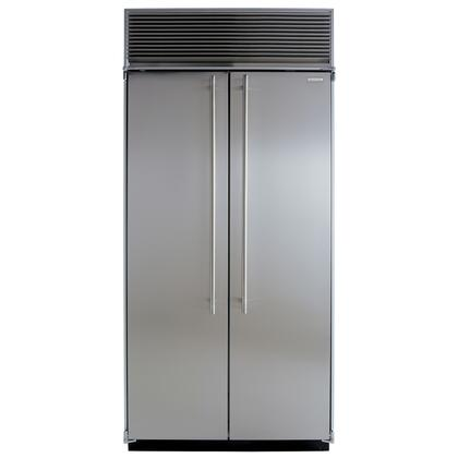 Marvel M36SSSS  Counter Depth Side by Side Refrigerator with 23.0 cu. ft. Capacity in Stainless Steel