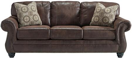Flash Furniture FBC8009SOESPGG Breville Series Stationary Faux Leather Sofa