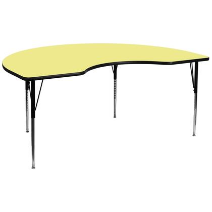 Flash Furniture XUA4896KIDNYYELTAGG