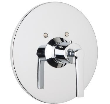 Rohl A4214XM Modern Bath Lombardia Trim Only For Thermostatic non Volume Controlled Valve, Cross Handle: