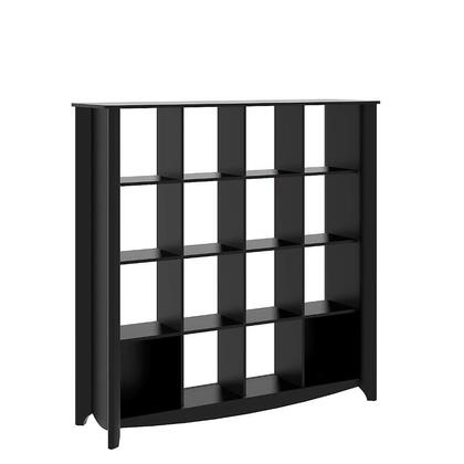 Bush Furniture MY16X0303 Aero 16-Cube Bookcase / Room Divider