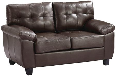 Glory Furniture G905AL Faux Leather Stationary Loveseat