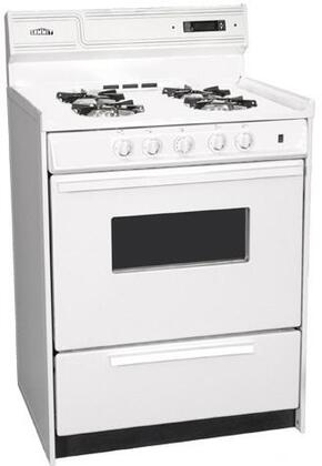 Summit WNM6307KWDNU  Gas Freestanding Range with Open Burner Cooktop, 2.92 cu. ft. Primary Oven Capacity, Broiler in Bisque