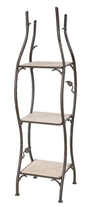 Stone County Ironworks 900-262 Sassafras Standing Shelf Single Width 3 Tier
