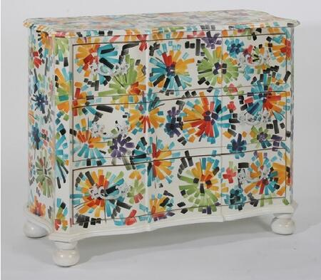 Gail's Accents 40022CH Menagerie Series Wood Chest