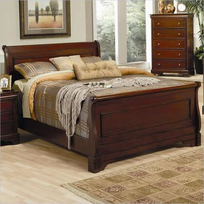 Coaster 201481KW Versailles Series  Cal. King Size Sleigh Bed