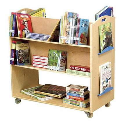 Guidecraft G6412  Wood 3 Shelves Bookcase