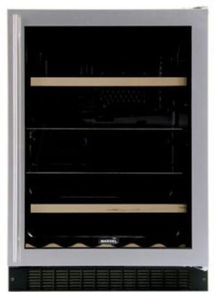 """Marvel 6BARMBSGLL 23.875"""" Built In Wine Cooler"""
