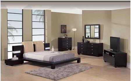 Global Furniture USA G020BEIKINGSET 4 Piece Bedroom Set