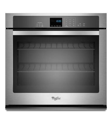 """Whirlpool WOS51EC0AS 30"""" Single Wall Oven, in Stainless Steel"""