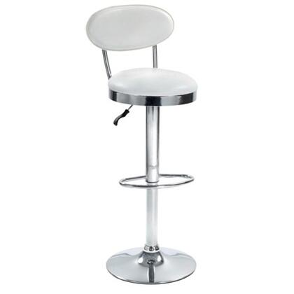 Fine Mod Imports FMI2210WHITE Beer Series Commercial/Residential Bar Stool