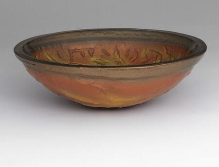 Ronbow 420819 Oval Glass Vessel Sink: