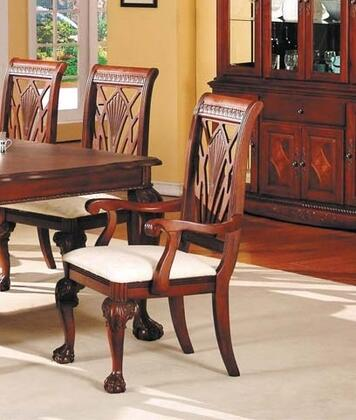 Acme Furniture 02108 Manchester Series Transitional Wood Frame Dining Room Chair