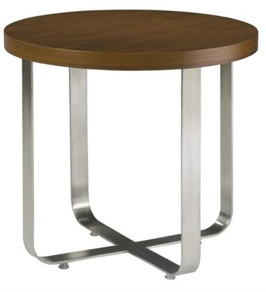 Allan Copley Designs 2090102W Artesia Series Contemporary Round End Table