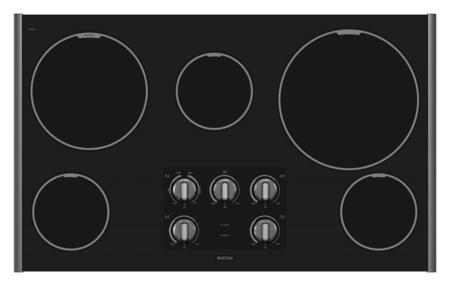 Maytag MEC7536WS  Electric Cooktop