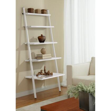Unique Furniture B3071 5-tier Leaning Ladder Bookshelf