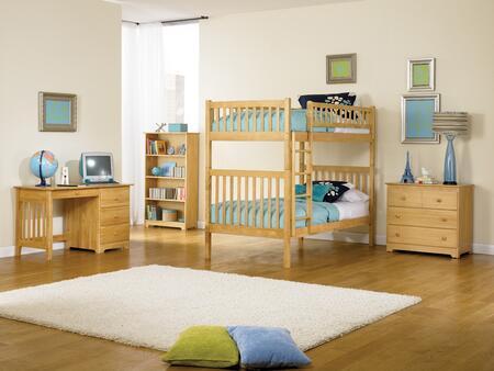 Atlantic Furniture ARITTNM  Twin Size Bed
