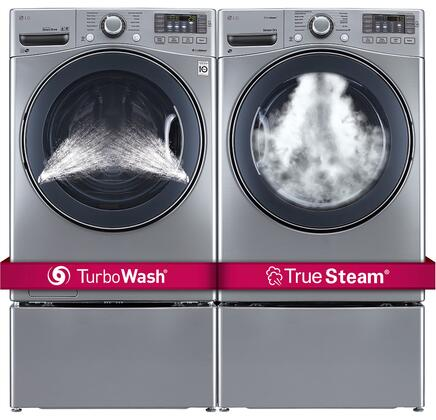 LG 551964 FrontLoad Washer and Dryer Combos