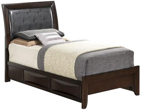 Glory Furniture G1525DTSB2  Twin Size Storage Bed
