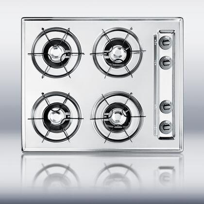 Summit ZTL033  Gas Open Burner Style Cooktop