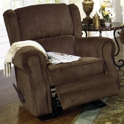 Jackson Furniture 438811 Traditional Fabric Wood/Steel Frame Rocking Recliners